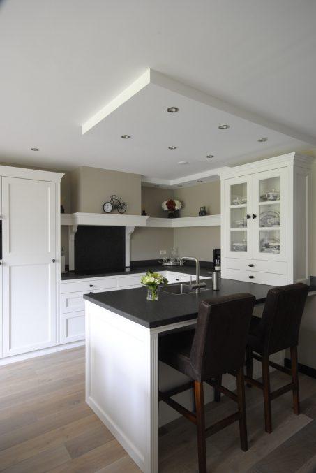 witte keuken handgemaakt