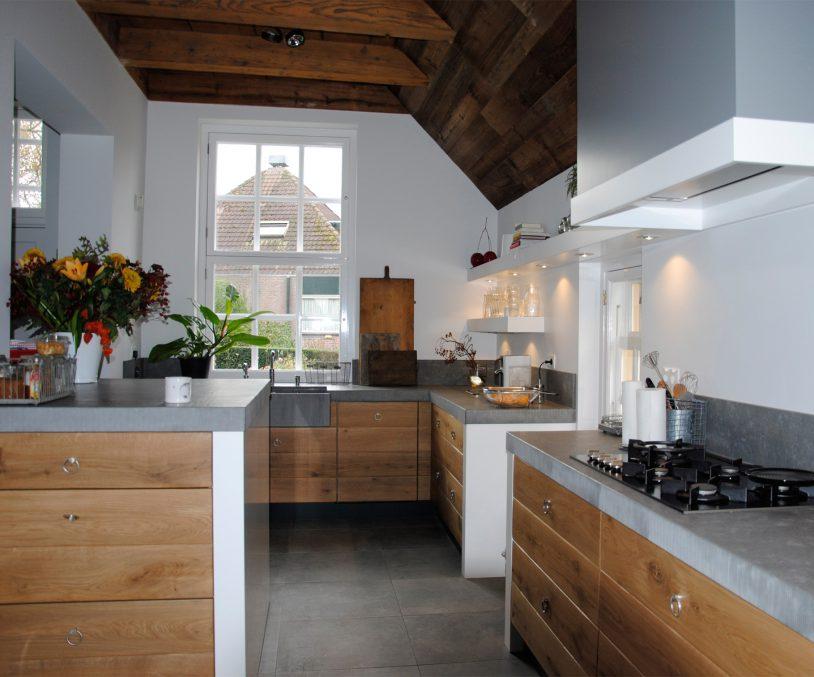 maatwerk houten keukens